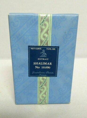 Vintage Guerlain Shalimar Extrait 1/3 FL OZ No 10.090  Never Opened