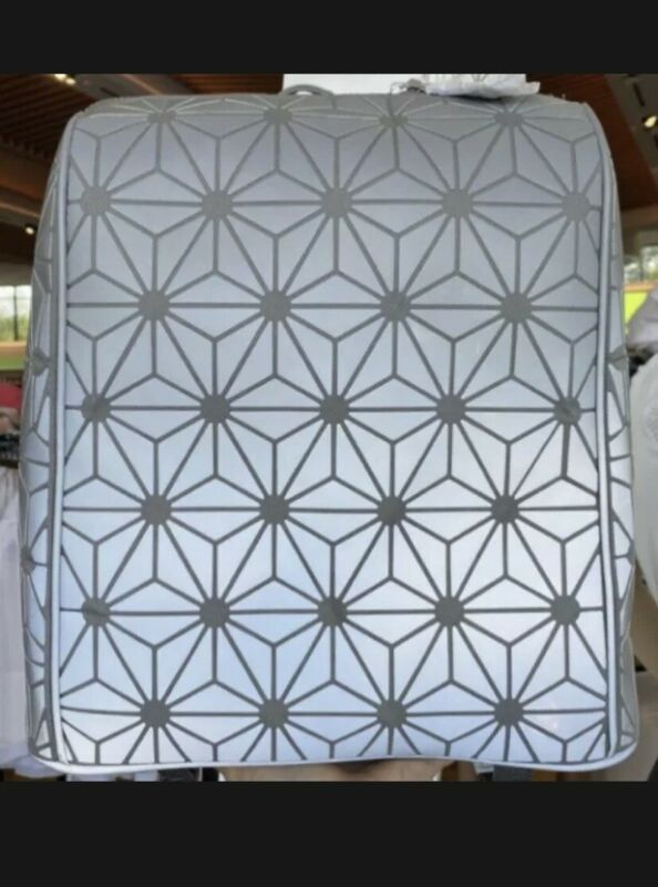 Epcot Center Spaceship Earth Pattern Backpack Bag Disney Parks Creations Shop
