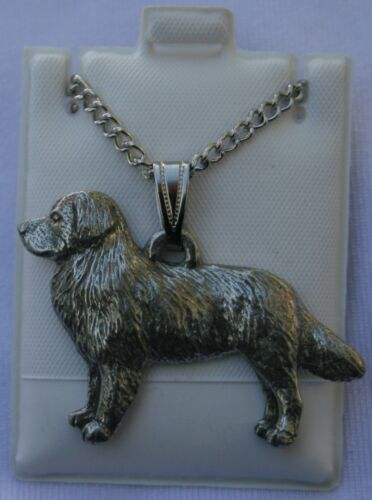 Bernese Mountain Dog Dog Harris Fine Pewter Pendant w Chain Necklace USA Made