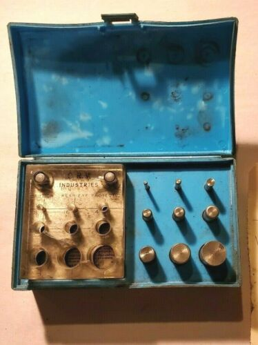 """C.R.V Industries Punch Die Set  1/8"""" - 3/4"""" Make Washers and Gaskets"""