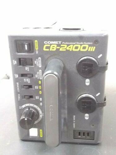 Comet CB 2400 III Professional Studio Strobe System