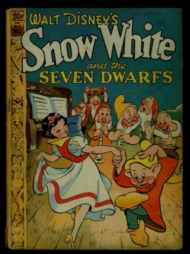 Dell FOUR COLOR Comics #49 SNOW WHITE And The SEVEN DWARFS VG 4.0
