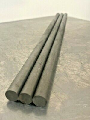 12l14 Steel Bar Stock 38 In .375 Round X 12 3 Bar Lot