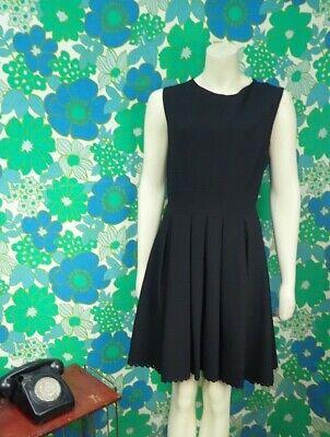 P13 Jill Stuart Black Dress Evening Smart Size 14