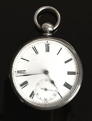 Solid Silver Royal Observatory Pocket Watch by J. Bennett London c.1890