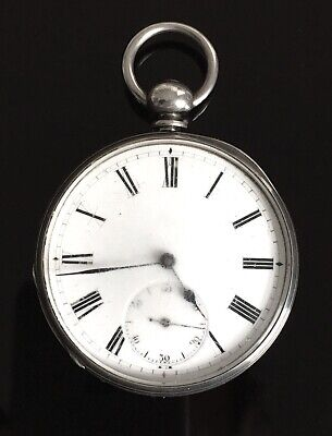 Solid Silver Royal Observatory Pocket Watch by J. Bennett London c.1890