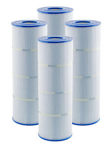 4 PACK PLEATCO PCC105 PENTAIR CLEAN AND CLEAR 420 FILTER CARTRIDGES C-7471