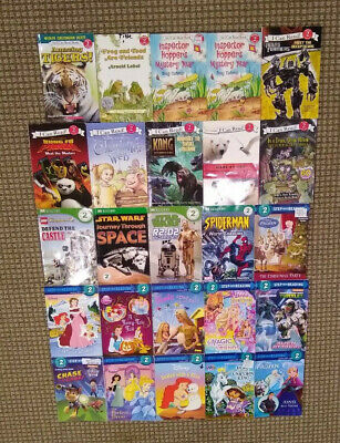 Lot of 25 Level 2 Readers; RL 2: Step Into Reading, I Can Read!...
