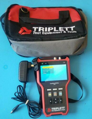 Triplett 8065 CamView HD Pro NTSC/PAL, AHD, CVI, TVI Camera Tester