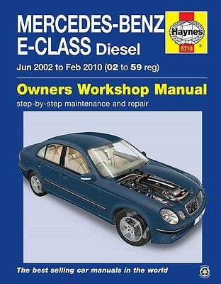 Haynes Manual 5710 Mercedes E-Class W211 Diesel CDI 2002 - 2009 NEW