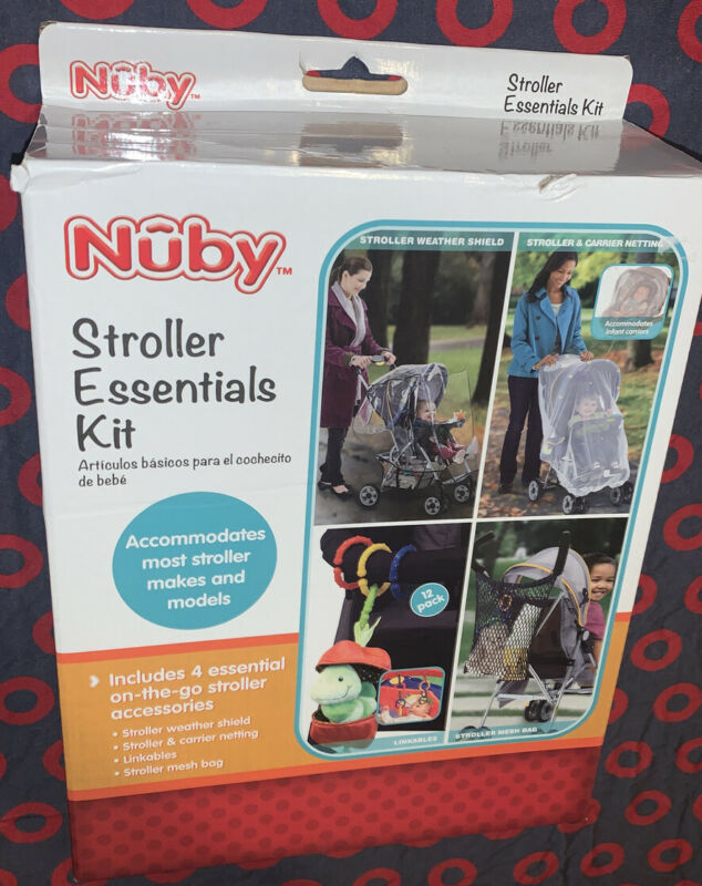 Nuby Baby Stroller Essentials Kit *Brand New* Multipurpose & Perfect For Mom!