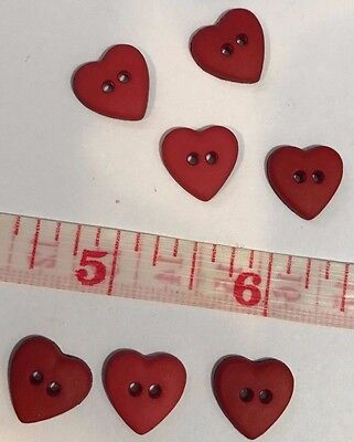 25 Buttons  Red Heart Sewing Buttons  1/2