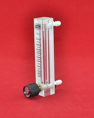 LZQ-7 acrylic flowmeter (1-20 LPM flow meter) with control valve for Oxygen/air