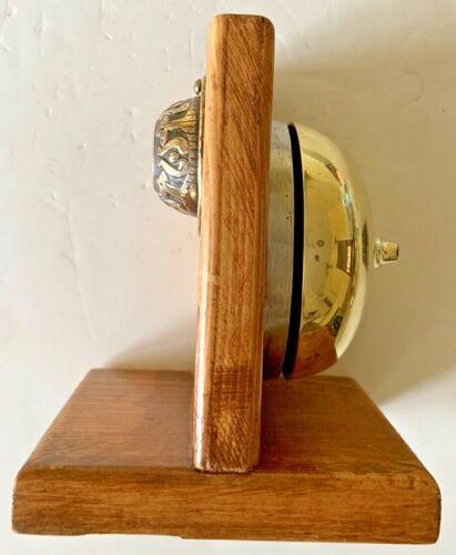 "Push Button Wind-Up 3 1/2"" Doorbell"