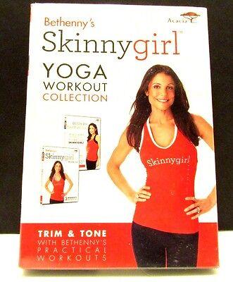 Bethenny Frankel Skinny Girl Workout Yoga Dvd New Sealed Exercise Fitness