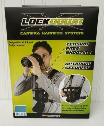 S4 Gear LockDownX Hands Free Camera Harness Strap for SLR and Bridge Cameras
