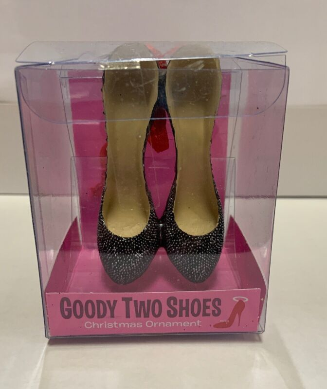 Goody Two Shoes Christmas Ornament
