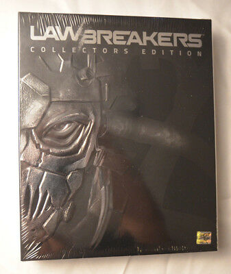 Lawbreakers Collectors Edition Sony Playstation 4 PS4 Limited Run Games New