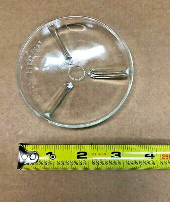 3-12 Watch Glass With Legs Chemistry Lab Glassware