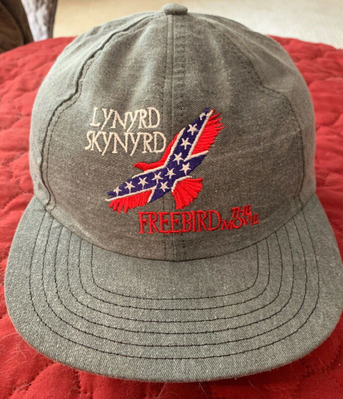 Vintage Lynyrd Skynyrd The Movie Snapback Hat