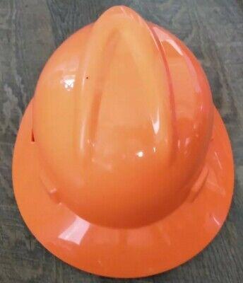 Msa Orange Class E Hard Hat Adjustable Medium V-guard Skullgard
