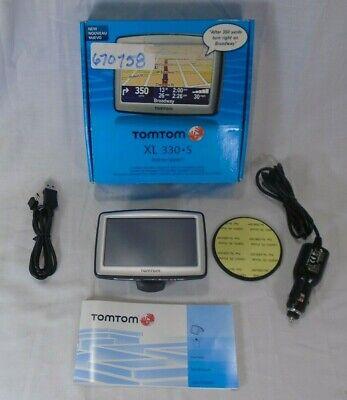 TomTom Xl 330S GPS System