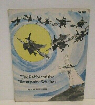 VINTAGE 1976 THE RABBI AND THE TWENTY-NINE WITCHES SCHOLASTIC PAPERBACK