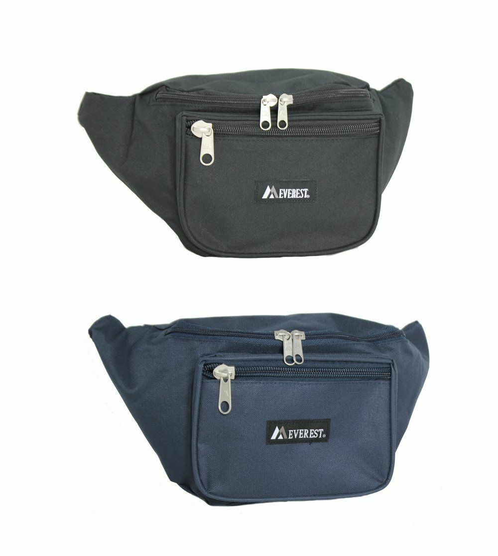 Everest Waist Fanny Pack Extra Large  Travel Utility Bag