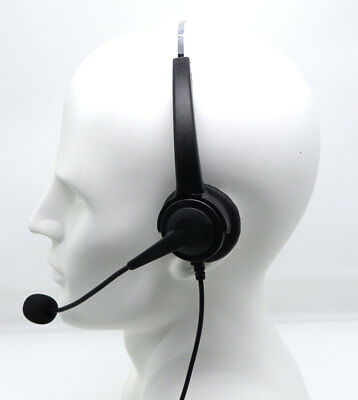 как выглядит Гарнитура для домашнего телефона Over-the-Head Band 2.5mm Headset for Panasonic Office Home Cordless Phone System фото