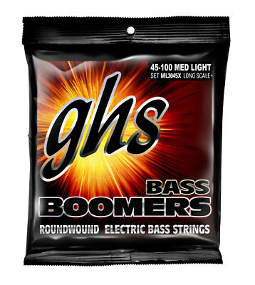Extra Long Scale Bass (GHS ML3045X EXTRA LONG SCALE BASS BOOMERS, MEDIUM)