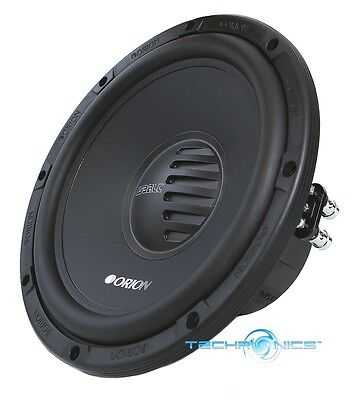 NEW ORION CO104D 10 INCH 400 WATTS MAX POWER DUAL 4 OHM CAR AUDIO SUB WOOFER