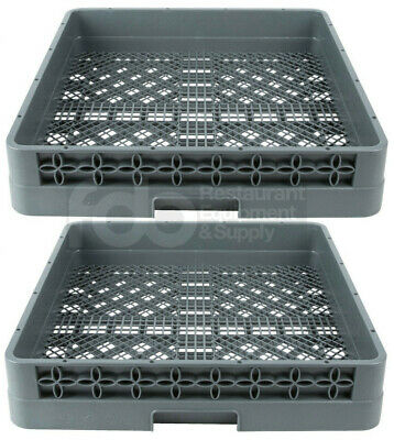 2 Pack Full Size Commercial Restaurant Dishwasher Machine Flatware Cup Rack