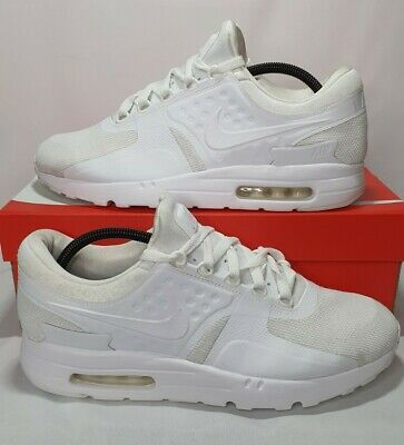 Nike Air Max Zero Triple White - 876070-100 - Size UK 9.5...