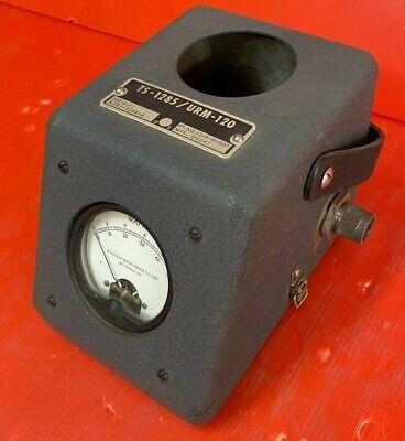 Ts-1285urm-120 Rf Wattmeter Set With 2 Plug In Elements For Military Radio