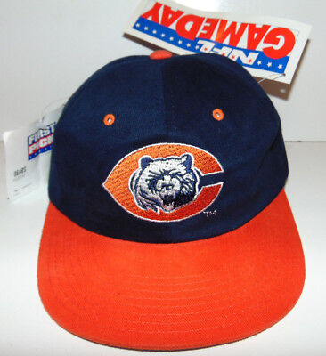 398c9b0e2296cb Vintage CHICAGO BEARS First Pick (STARTER) GameDay CAP Hat NWT NEW 1980's  80's