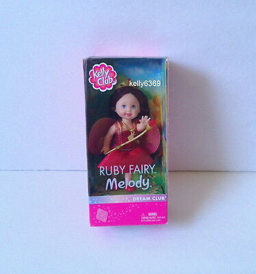 KELLY Doll **RUBY FAIRY MELODY**  Dream Club Barbie NEW