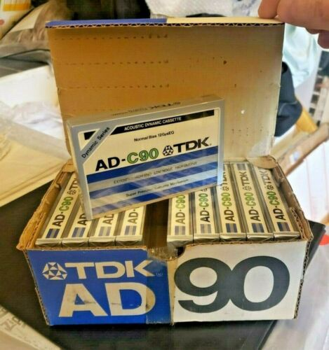NEW VINTAGE TDK AD-C90 CASSETTE TAPE Ships in 24 hours!