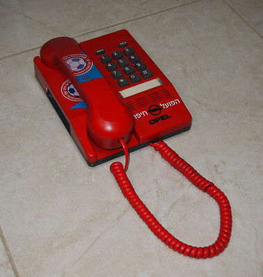 Telefon HAPOEL HAIFA F.C. Israel mit OPEL (Trikot-Sponsor 1995-2003) image