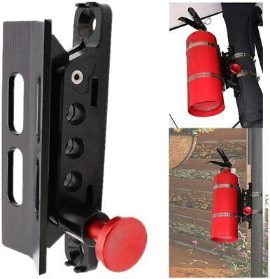 Vehicle Universal Roll Bar Bottle Fire Extinguisher Holder Mount Adjustable Kit
