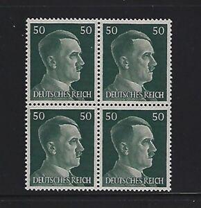 MNH-Adolph-Hitler-stamp-block-1941-PF50-Original-Third-Reich-Germany-Block