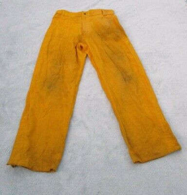 """100/% NOMEX FIREFIGHTER GEAR BRUSH FIRE WILDLAND PANTS Size Small 27/""""  Long"""