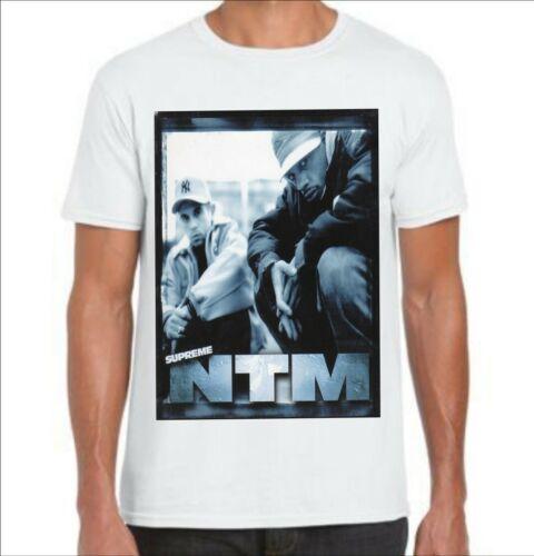 Tee-shirt suprême ntm  rap français 2020  hip hop urbain