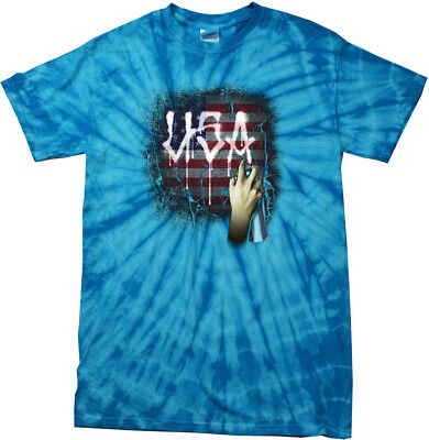 Buy Cool Shirts USA Spray Paint Spider Tie Dye Shirt (Spray Tie Dye)
