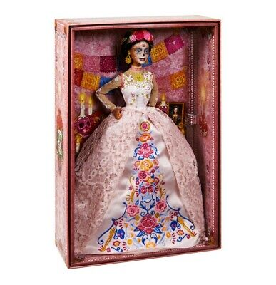 2020 Barbie Dia De Los Muertos (Day of The Dead) DOTD 2 Pink Doll - SHIP NOW!!!!