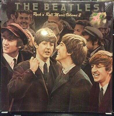 The BEATLES Rock 'N' Roll Music Volume 2 Capitol SN 16021 LP Factory Sealed 1980