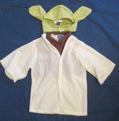 Star Wars Yoda Costume Jedi Master Toddler Childs Rubies