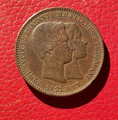 Belgique - Léopold Ier - Très Joli  module 10 Centimes 1853