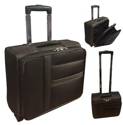 Maletin maleta con Ruedas comercial piloto medico Para Portatil trolley