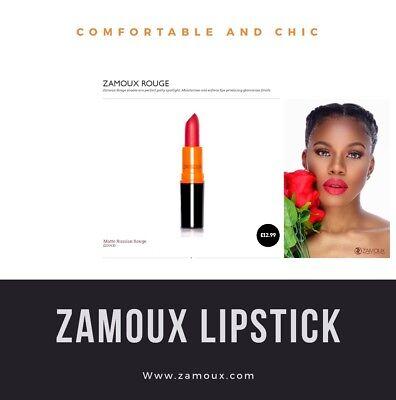 BEST SELLING LONG-LASTING RED LIPSTICK MATTE LIPSTICK ZAMOUX SUPER STAY