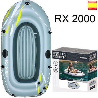 Barca hinchable bote bestway RX 2000 embarcación